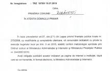 Indicatori executie bugetara trim. II an 2015