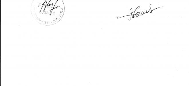 Anexa dispozitie primar privind referendumul pentru modificarea constitutiei